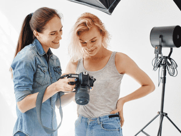 photographer photo shoot