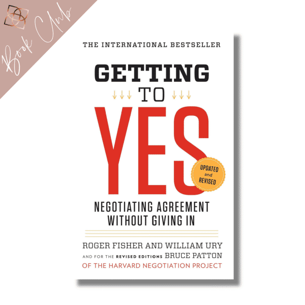 Getting to Yes book club