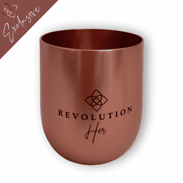 RevolutionHER™ Copper Tumbler