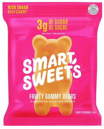 SmartSweets Gummy Bears in RevolutionHer Welcome Boxes