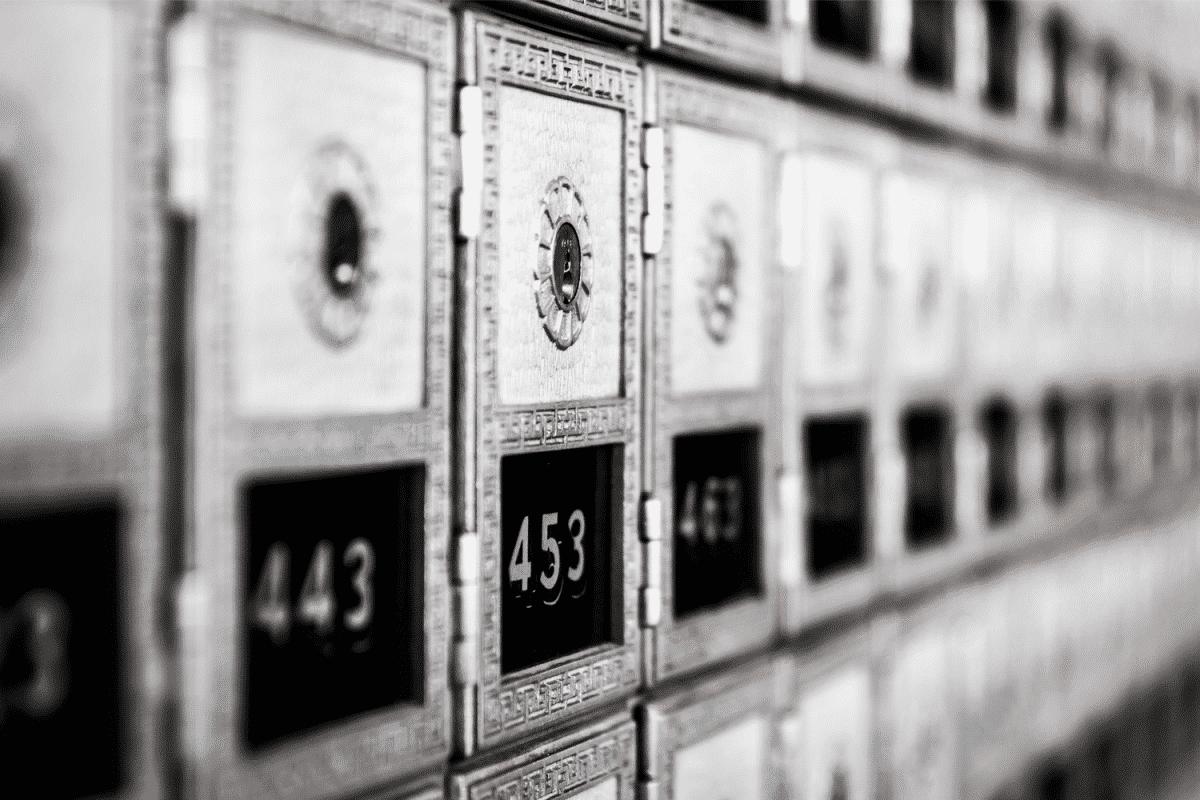 business mail box