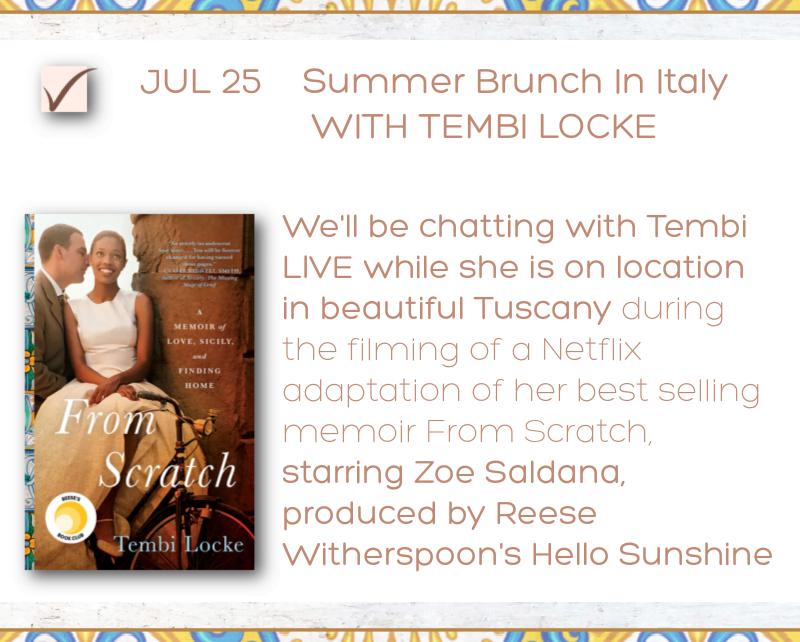 Tembi Locke From Scratch event