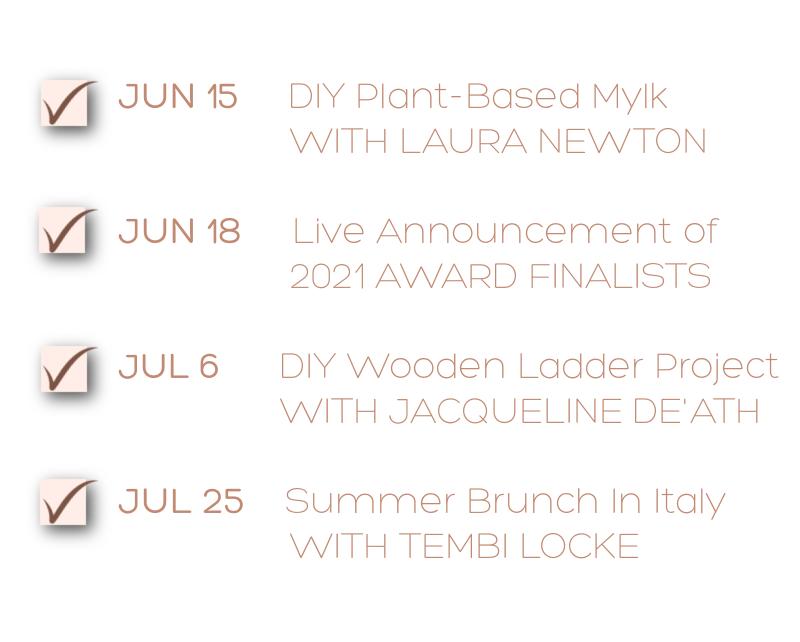 Upcoming Events - Jun-Jul