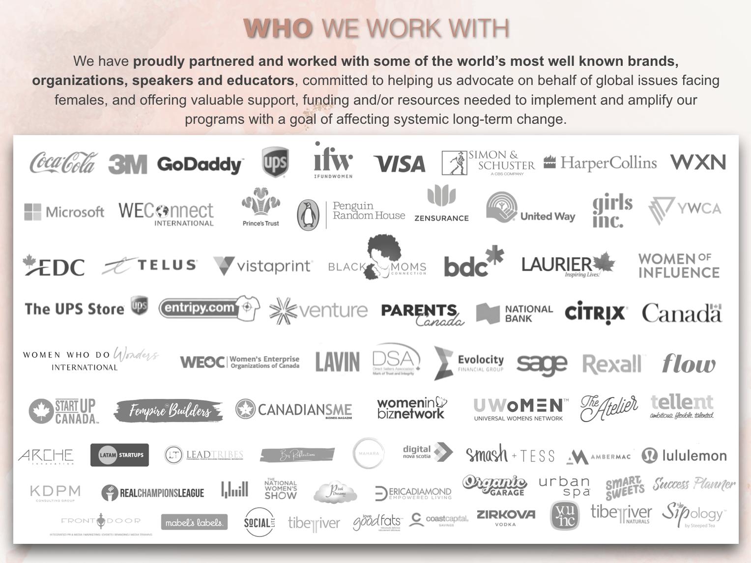 RevolutionHer Partners and Sponsors