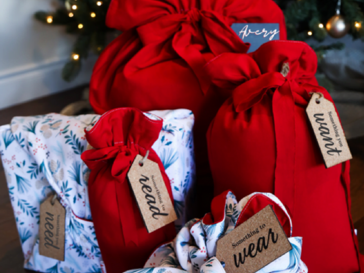 gifts with reusable joywrap