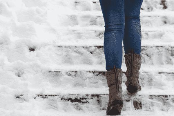 winter walking safety