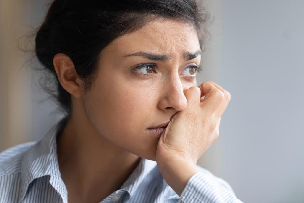 woman anxiety